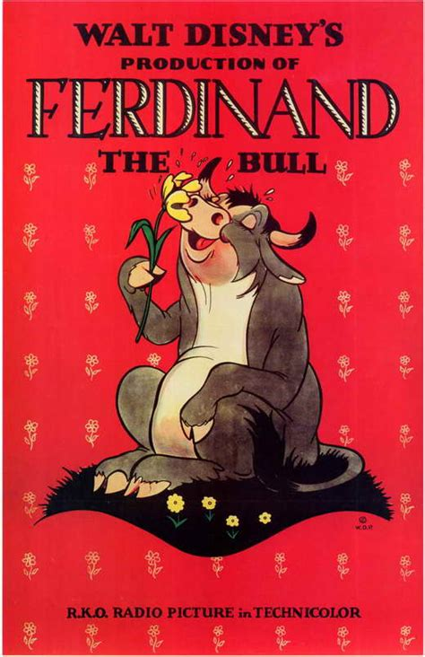Ferdinand the Bull Movie Posters From Movie Poster Shop