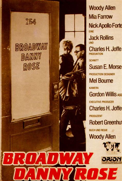 Broadway Danny Rose (1984) • Visual Parables