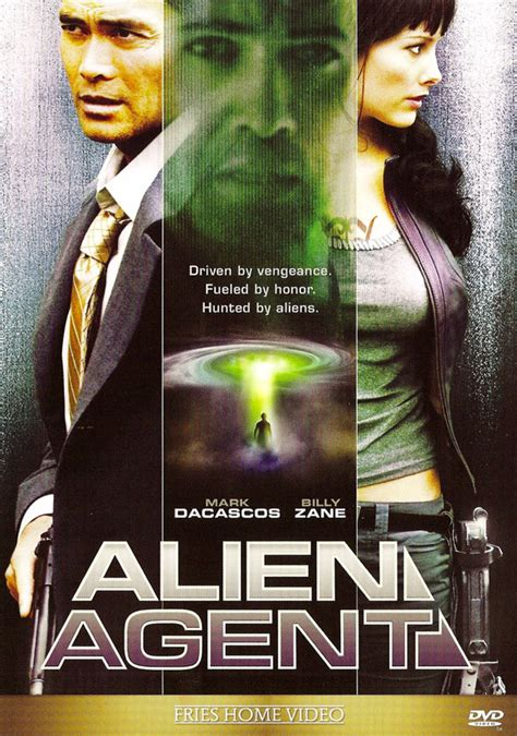 Alien Agent Movie Posters From Movie Poster Shop