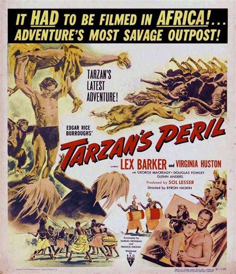 Tarzan's Peril Movie Posters From Movie Poster Shop