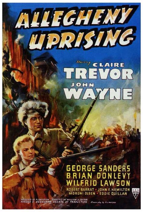 Allegheny Uprising Movie Posters From Movie Poster Shop