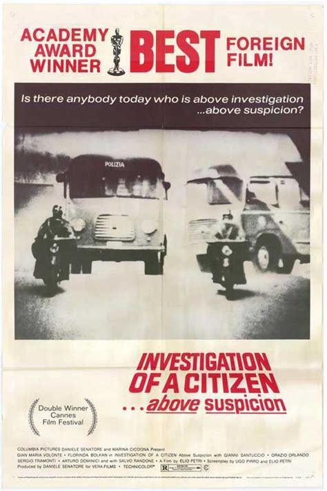 Investigation of a Citizen... Above Suspicion Movie ...