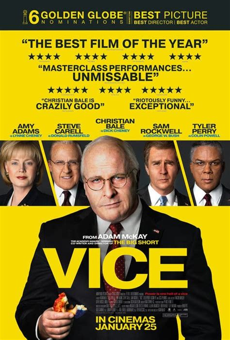 Movie Review - Vice (2018) | Flickering Myth