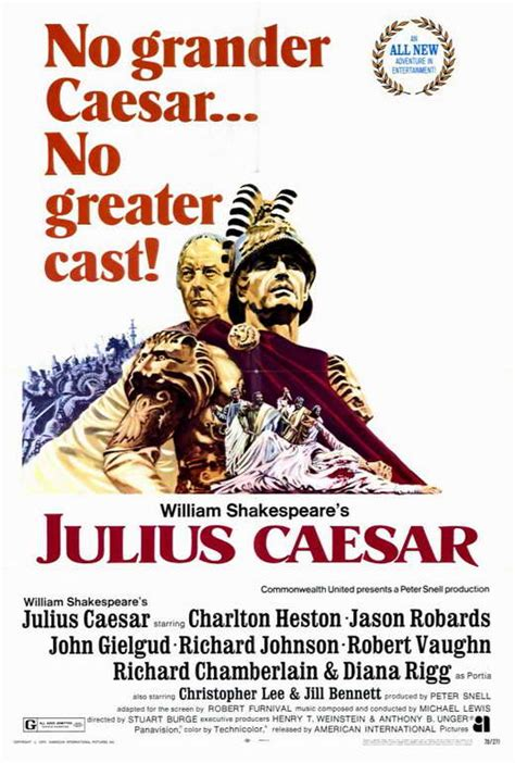 Julius Caesar Movie Posters From Movie Poster Shop