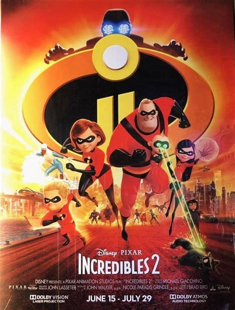 New Incredibles 2 Poster | Cosmic Book News