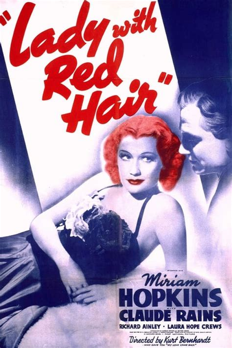 Lady with Red Hair (1940) — The Movie Database (TMDb)