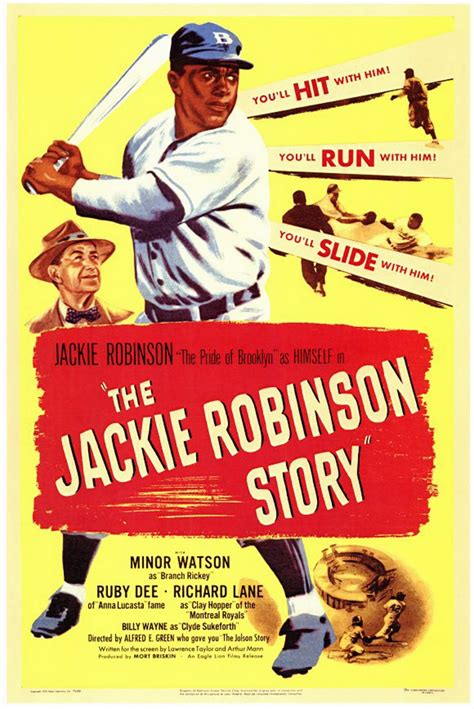 the-jackie-robinson-story-movie-poster- | Offseason Project