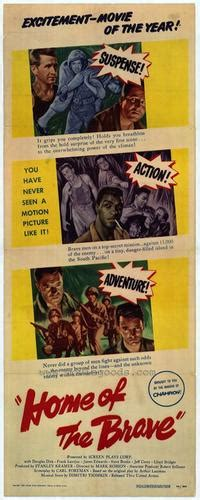 Home of the Brave Movie Posters From Movie Poster Shop