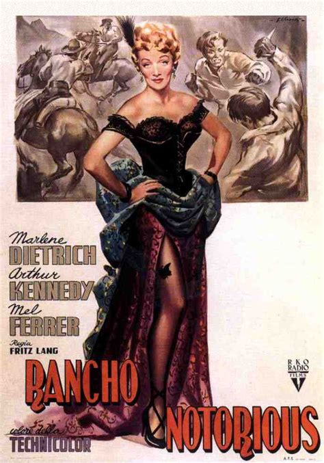MOVIE POSTERS: RANCHO NOTORIOUS (1952)
