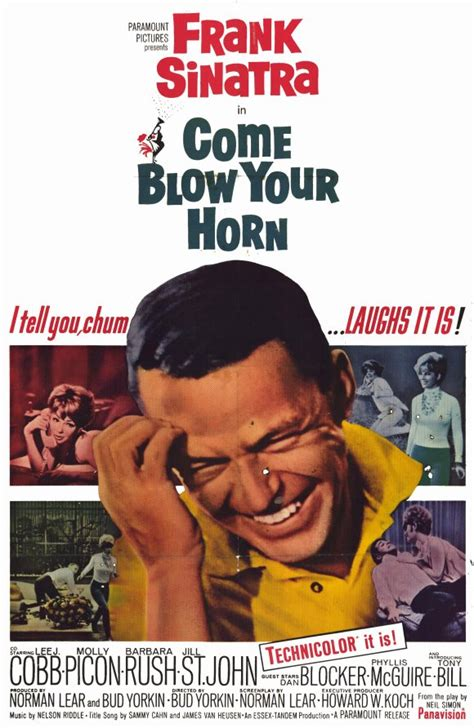 Come Blow Your Horn Movie Posters From Movie Poster Shop