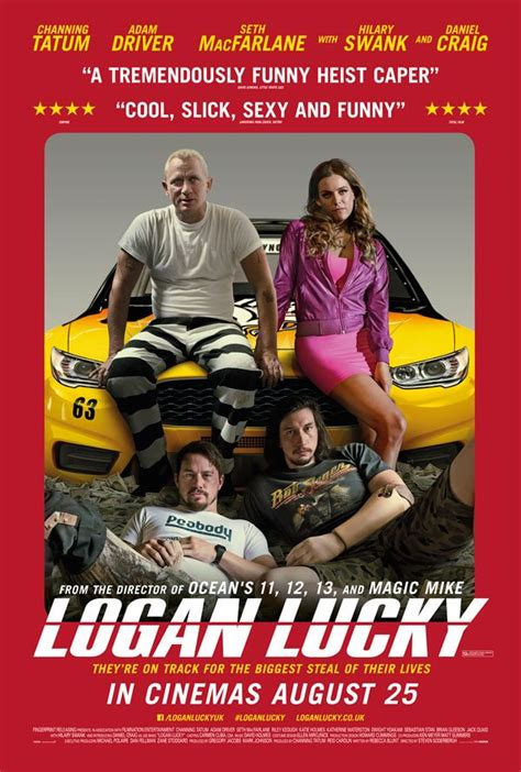 Movie Review - Logan Lucky (2017) | Flickering Myth