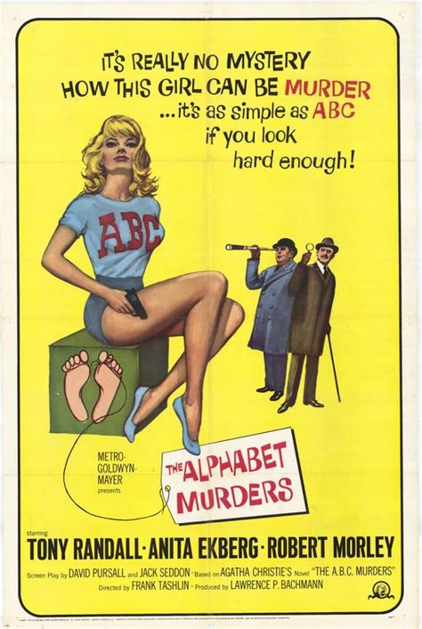 The Alphabet Murders Movie Posters From Movie Poster Shop
