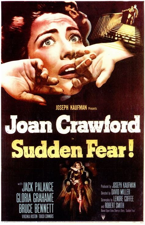 Sudden Fear Movie Posters From Movie Poster Shop