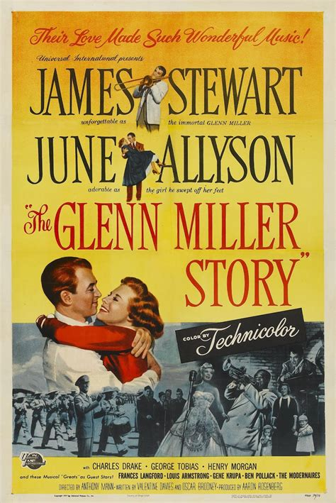 Happyotter: THE GLENN MILLER STORY (1954)