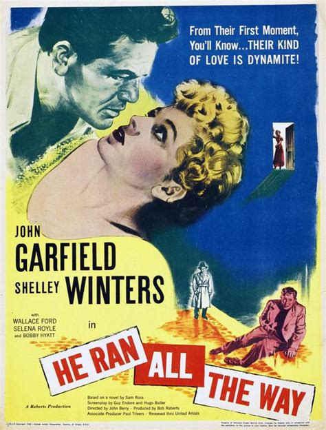 He Ran All the Way Movie Poster (#1 of 2) - IMP Awards