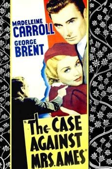 ‎The Case Against Mrs. Ames (1936) directed by William A ...
