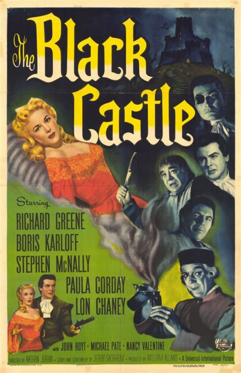 The Black Castle Movie Posters From Movie Poster Shop