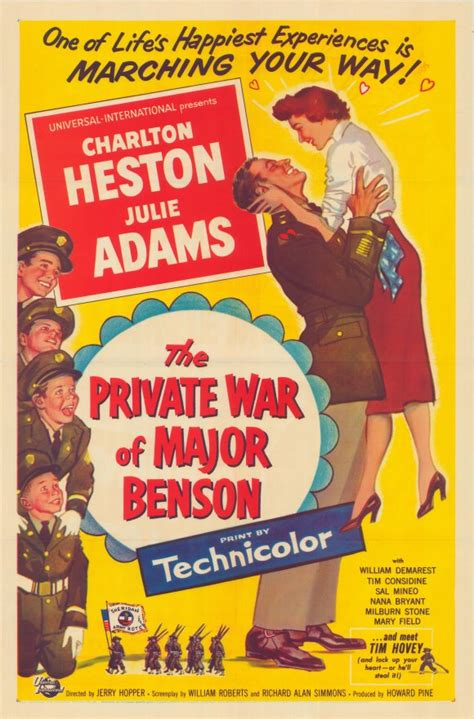 The Private War of Major Benson Movie Posters From Movie ...