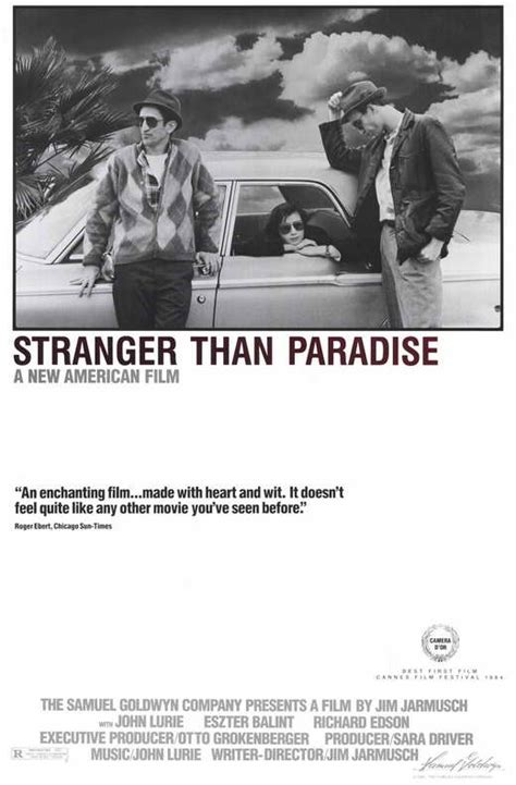 Stranger than Paradise Movie Posters From Movie Poster Shop