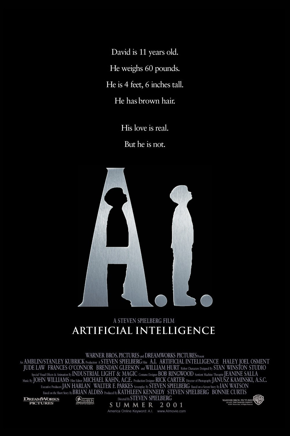 AI Artificial Intelligence [2001]