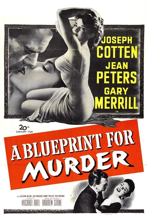A Blueprint for Murder (#1 of 2): Extra Large Movie Poster ...