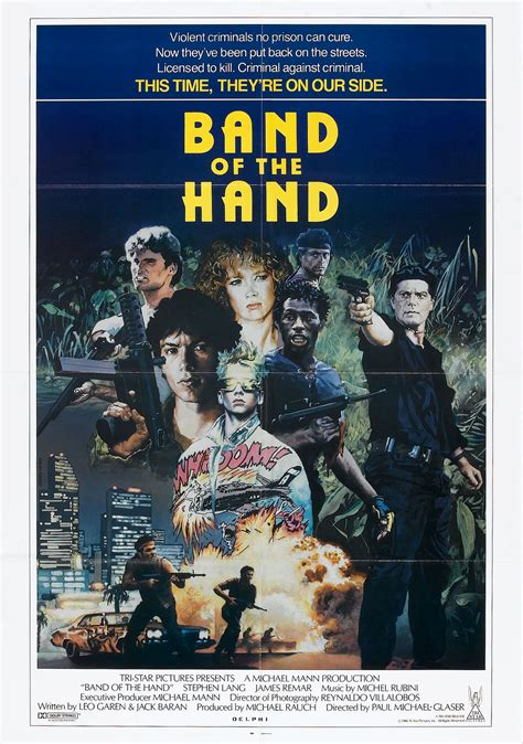 BAND OF THE HAND - Wrong Side of the Art