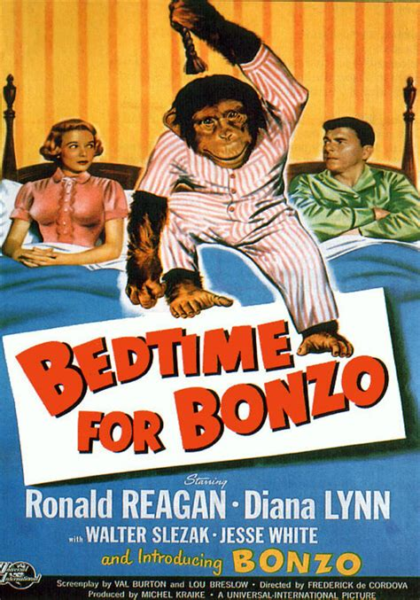 MAGNET Movie Poster Photo Magnet BEDTIME FOR BONZO 1951 ...