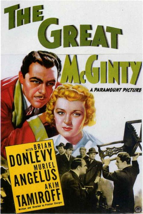 The Great McGinty Movie Posters From Movie Poster Shop