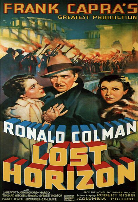 MAGNET Movie Poster Photo Magnet LOST HORIZON 1937 Ronald ...