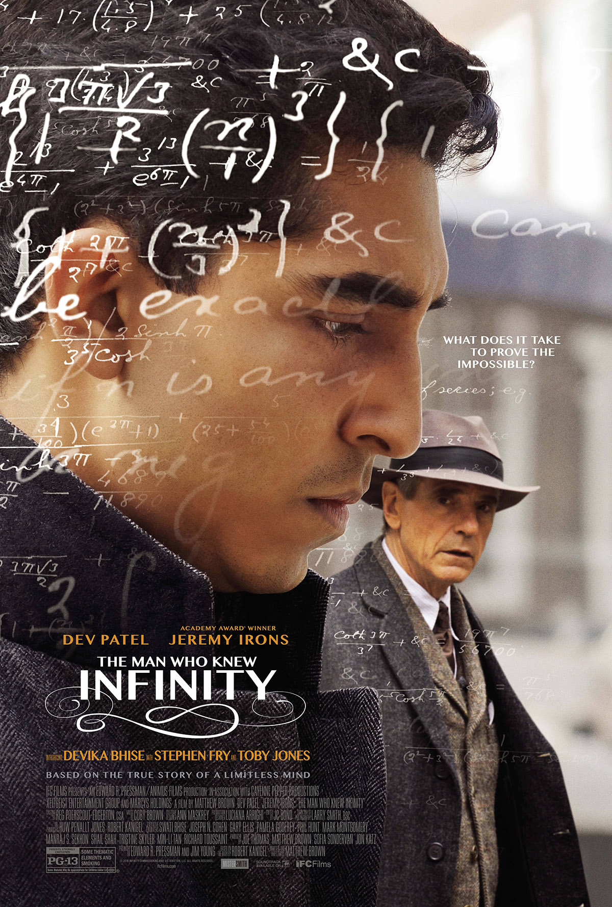 The Man Who Knew Infinity [2015]