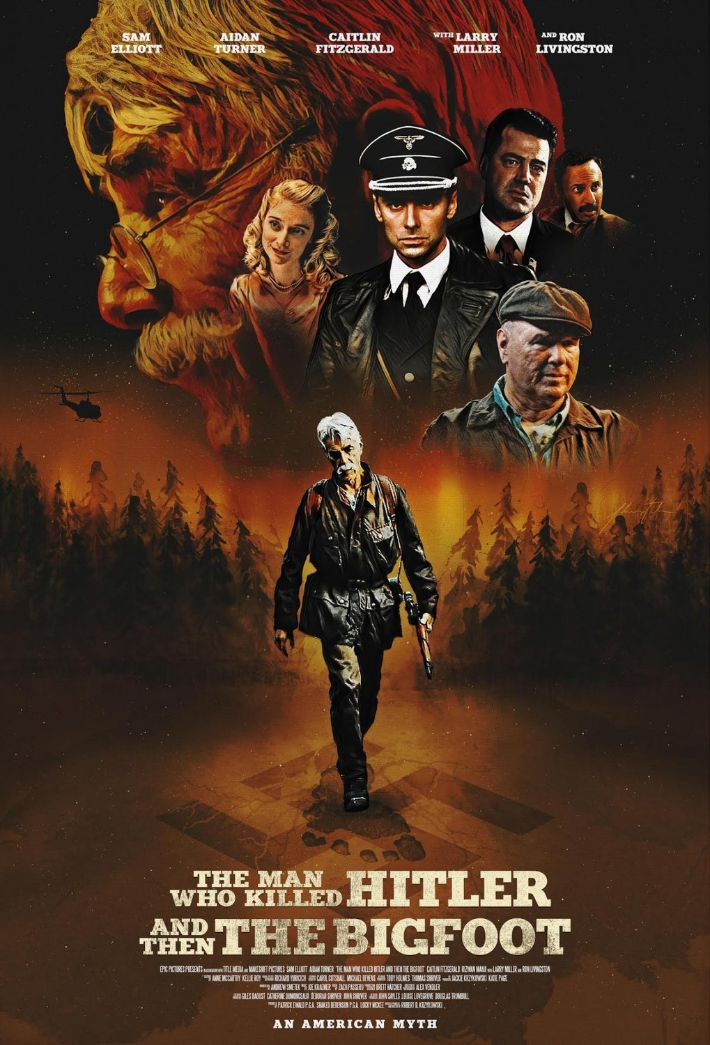 The Man Who Killed Hitler and Then The Bigfoot [2018]