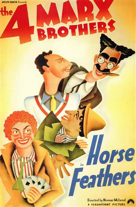 Horse Feathers Movie Posters From Movie Poster Shop