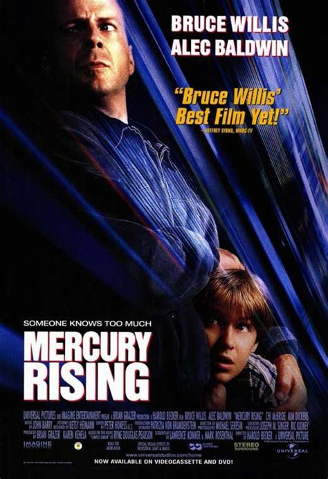 Mercury Rising Movie Posters From Movie Poster Shop