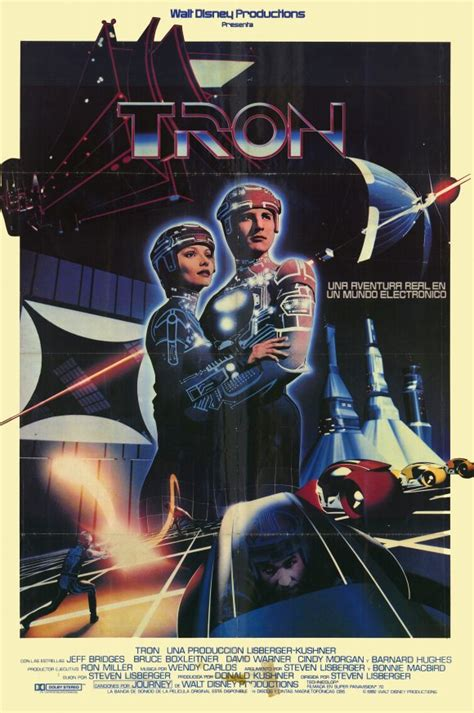 The Geeky Nerfherder: Movie Poster Art: Tron (1982)