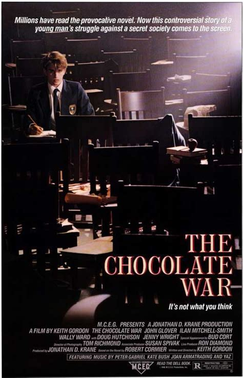 The Chocolate War Movie Posters From Movie Poster Shop