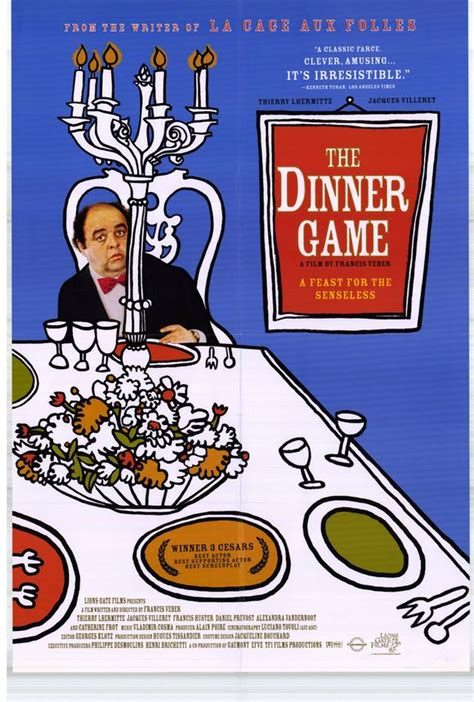 The Dinner Game Movie Posters From Movie Poster Shop