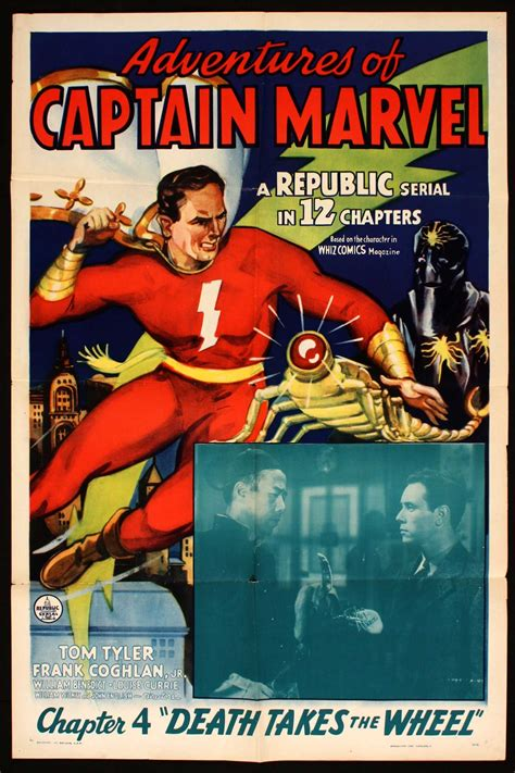 """The Adventures of Captain Marvel"" Republic pictures, 1941 ..."