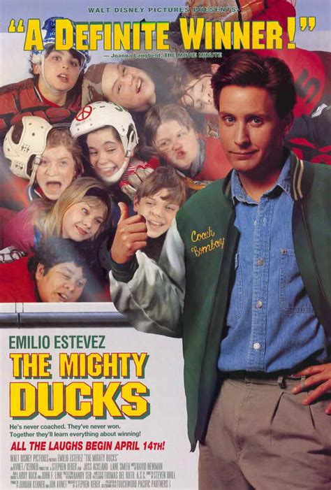 The Mighty Ducks Movie Posters From Movie Poster Shop