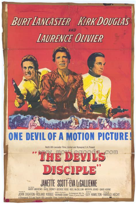 The Devil's Disciple Movie Posters From Movie Poster Shop