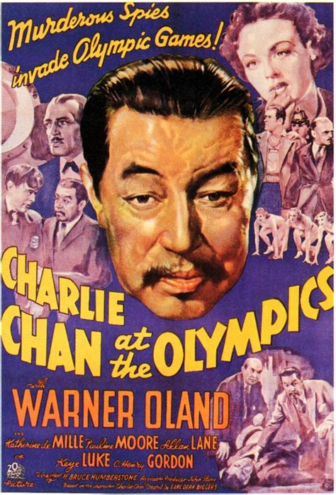 Charlie Chan at the Olympics Movie Posters From Movie ...