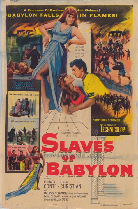 Slaves of Babylon Movie Posters From Movie Poster Shop