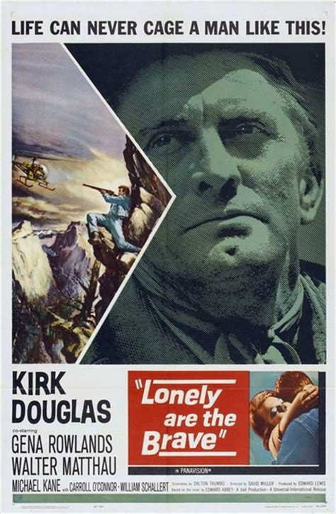 Lonely are the Brave (1962) David Miller, Kirk Douglas ...