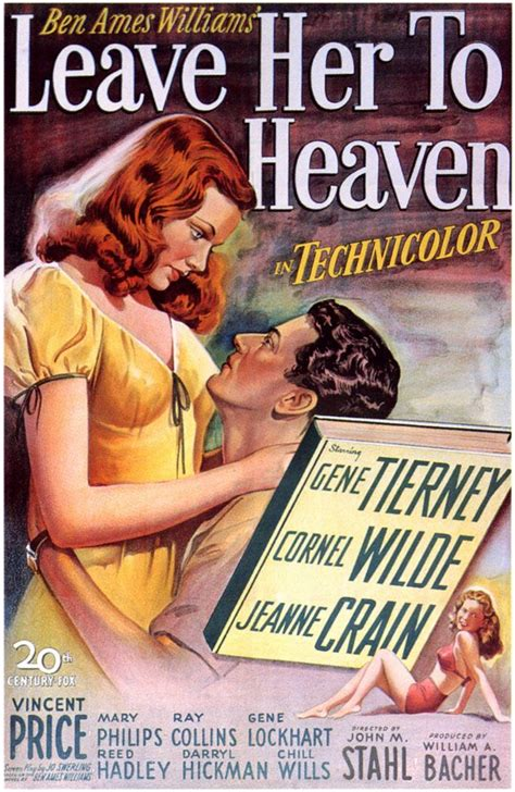 Leave Her to Heaven Movie Posters From Movie Poster Shop