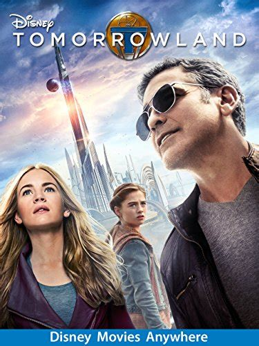 Tomorrowland DVD Cover & Label (2015) R0 Custom Art