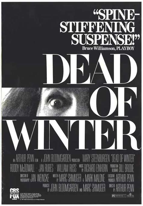 Dead of Winter Movie Posters From Movie Poster Shop