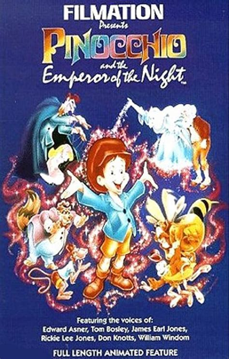 Pinocchio and the Emperor of the Night (1987) — The Movie ...