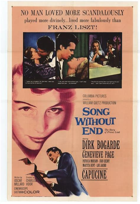 Song Without End Movie Posters From Movie Poster Shop