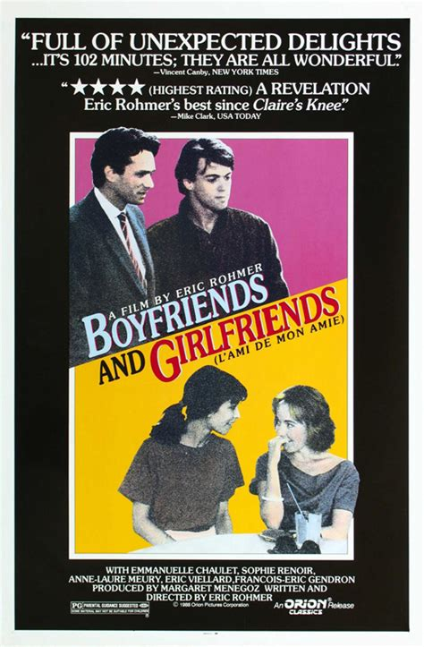 Boyfriends and Girlfriends Movie Posters From Movie Poster ...
