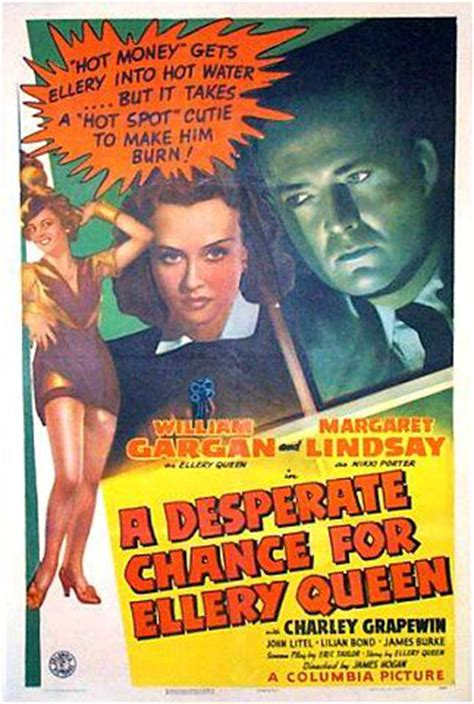 A Desperate Chance for Ellery Queen - Movies