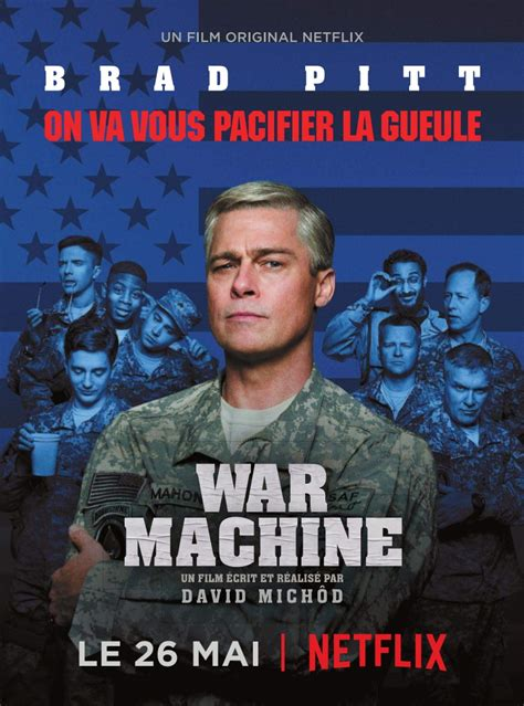 Download War Machine (2017) 720p WebHD-Rip x264 [Dual ...